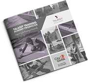 Download the Talasey Training Academy prospectus